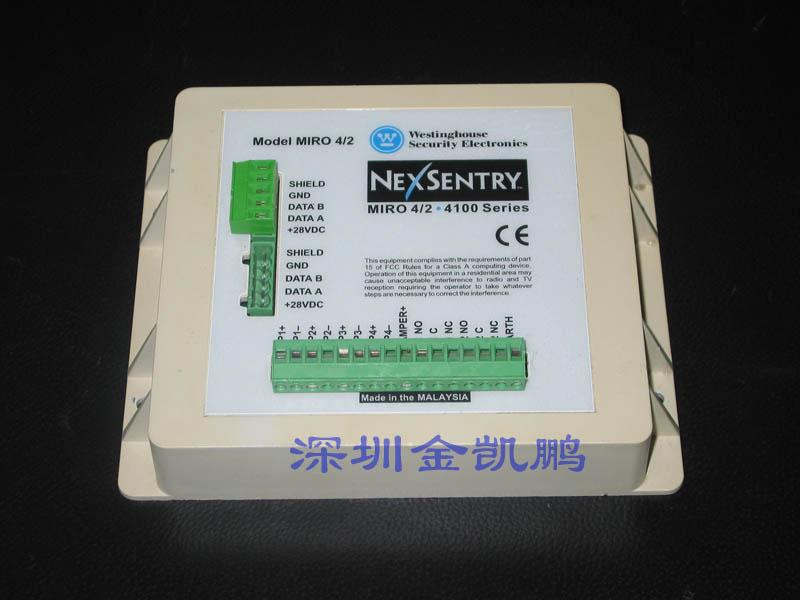 WSE(西屋门禁) 监视控制输入及继电器输出模块 NEXSENTRY MIRO 4/2 WSE(西屋门禁) 监视控制输入及继电器输出模块 NEXSENTRY MIRO 4/2简介:MIRO 4/2 输入输出4个报警输入, 2个控制输出, 2个S-Net口 WSE(西屋门禁) 监视控制输入及继电器输出模块 NEXSENTRY MIRO 4/2 WSE(西屋门禁) 监视控制输入及继电器输出模块 NEXSENTRY MIRO 4/2 WSE(西屋门禁) 监视控制输入及继电器输出模块 NEXSENTRY MIRO
