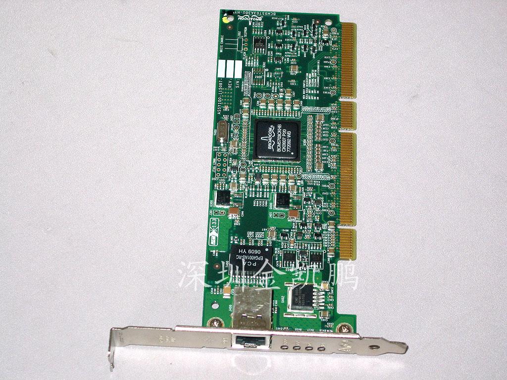 惠普(HP) 千兆服务器网卡 NC7771  只需要一条电缆;简化了网络基础设施架构的布线  根据处理器利用率,提高网卡、TOE 和 RDMA 效率  可利用较少的资源实现集中管理 HP NC7771 PCI-X 千兆服务器适配器是一款高性能的网络解决方案,可满足 ProLiant 客户对超大带宽和特性的需求 端口数量 1 PCI 总线 32/64 端口介质 铜缆